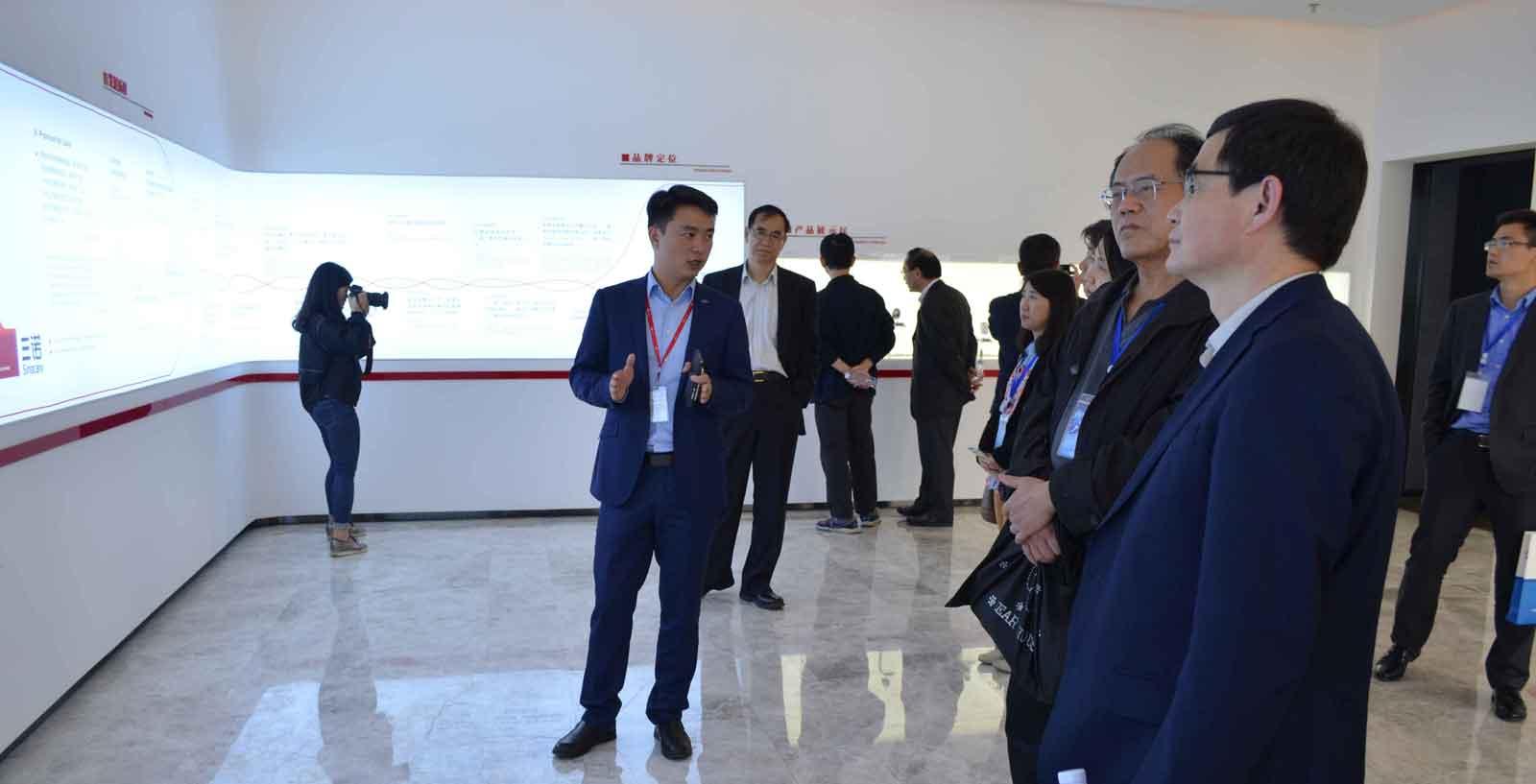 """美国华人医药科学家协会专家团来访三诺 携医药项目寻""""长沙合伙人"""""""