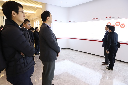 在华韩企来湘投资考察团到访幸运飞艇走势规律技巧生物