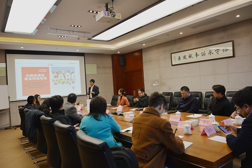 中国生物技术发展中心董志峰一行调研三诺生物