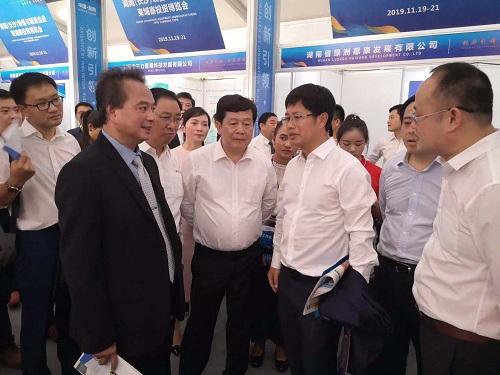 三諾董事長李少波隨湖南省政府赴柬埔寨考察
