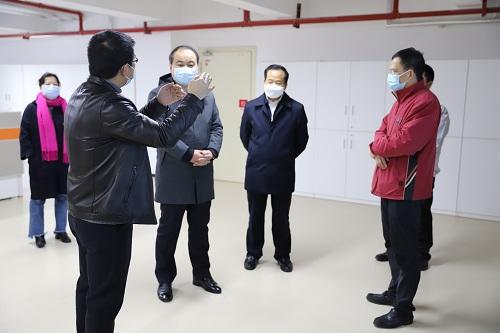 長沙市委副書記朱健調研三諾生物復工復產工作