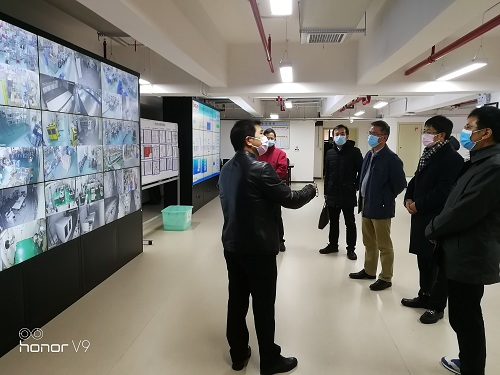 曹慧泉廳長調研三諾生物復工復產及疫情影響
