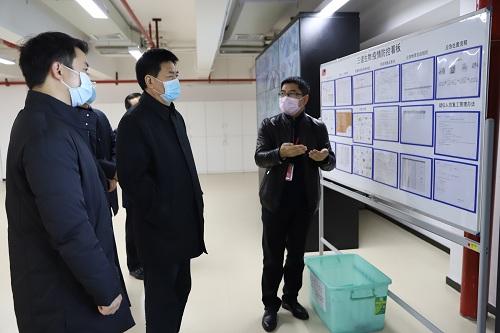 湖南省紀委書記傅奎調研三諾生物疫情防控